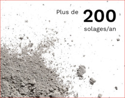 Plus de 200 solages par an